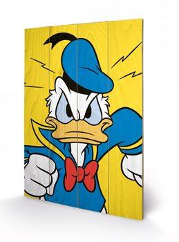 Donald kacsa - Mad plakát fatáblán