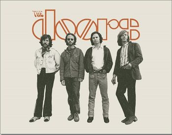 DOORS - The Band Metalplanche