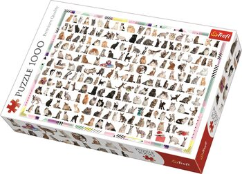Puzzle 208 koček