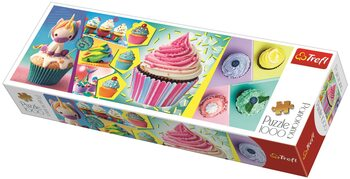 Puzzle Barevné dortíky