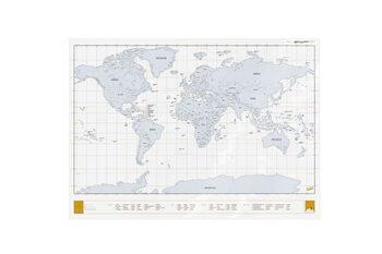 Stírací mapa Clear Edition