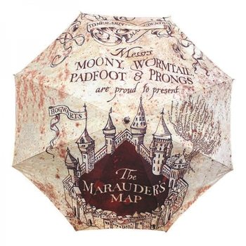 Deštník Harry Potter - Marauders Map