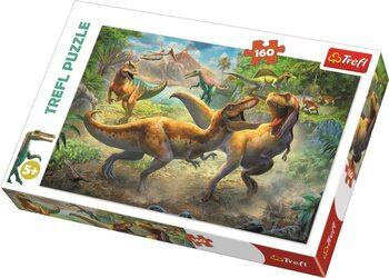 Puzzle Dinosauří souboj