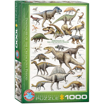 Puzzle Dinosaurs of Cretaceous Period