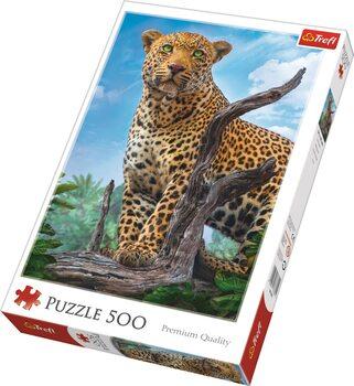 Puzzle Divoký levhart