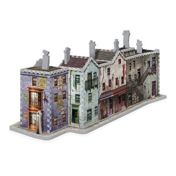 Puzzle  Harry Potter - Příčná Ulice 3D