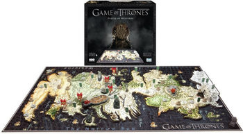 Puzzle  Hra o Trůny (Game of Thrones) -  Westeros 4D Cityscape