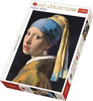 Puzzle Jan Vermeer - Dívka s perlou