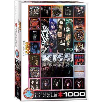 Puzzle KISS The Albums
