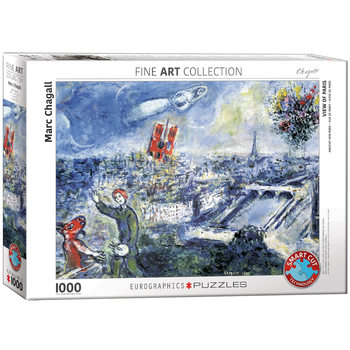 Puzzle Le Bouquet de Paris by Chagall