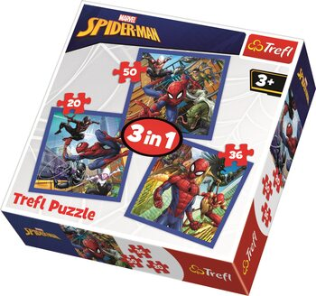 Puzzle Marvel - Spiderman 3v1