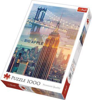 Puzzle New York za úsvitu