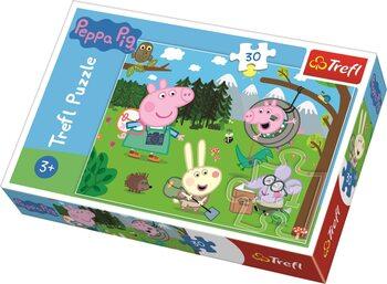 Puzzle Prasátko Peppa