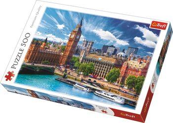 Puzzle Slunečný den v Londýně