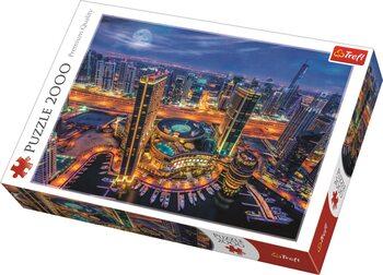 Puzzle Světla Dubaje