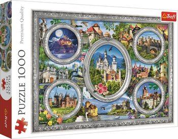 Puzzle Světové zámky