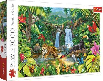 Puzzle Tropický deštný prales