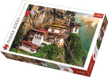 Puzzle Tygří hnízdo, Bhútán