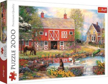 Puzzle Život na venkově