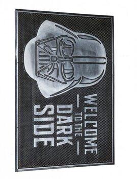 Star Wars - Dark Side (Rubber) Dørmatte