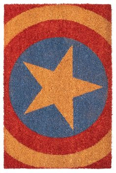 Captain America - Shield Dørmåtte