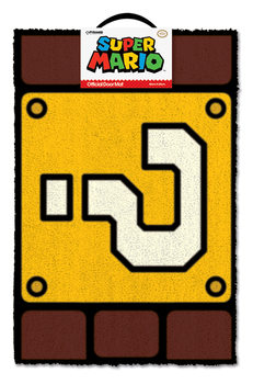 Super Mario - Question Mark Block Dørmåtte