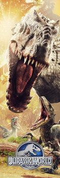 Jurassic World - Attack Dørplakater