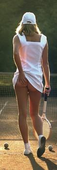 Tennis girl Dørplakater