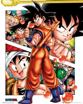 Dragon Ball - Collage - плакат (poster)