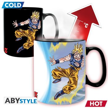 Taza Dragon Ball - Goku vs Buu