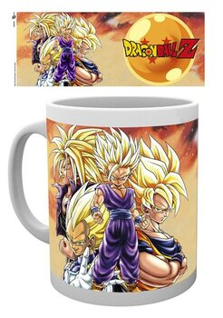 Taza Dragon Ball Z - Super Saiyans
