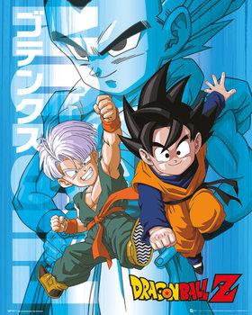 Dragon Ball Z - Trunks and Goten - плакат (poster)