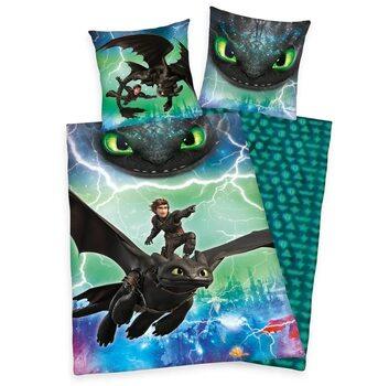 Linge de lit Dragons: Le monde caché