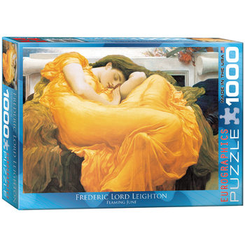 Puzzle Frederic Leighton - Flaming June