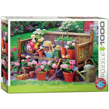 Puzzle Garden Bench
