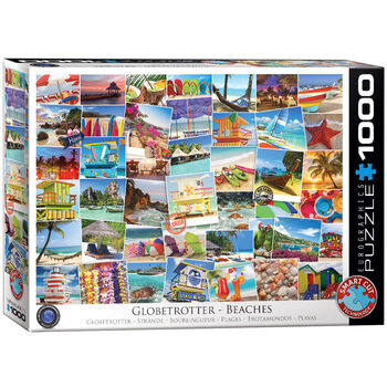 Puzzle Globetrotter Beaches