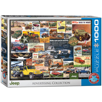 Puzzle Jeep Advertising Collection