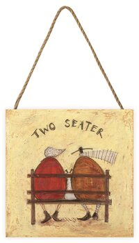 Sam Toft - Two Seater Slika na drvetu
