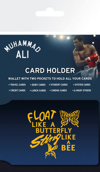 Muhammed Ali - Float Držalo za kartice