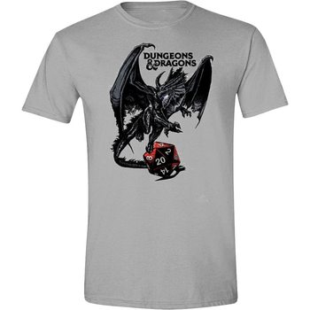 T-Shirt Dungeons & Dragons - Dragon Logo