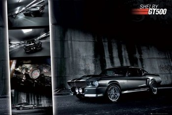 Easton - shelby gt 500 - плакат (poster)