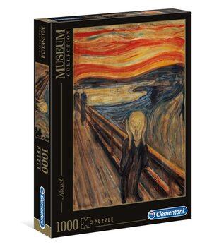 Puzzle Edvard Munch - Výkřik