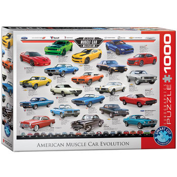 Puzzle American Muscle Car Evolution
