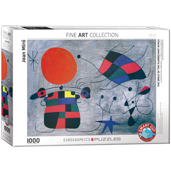 Puzzle Joan Miró - Smile of the Flamboyant Wings