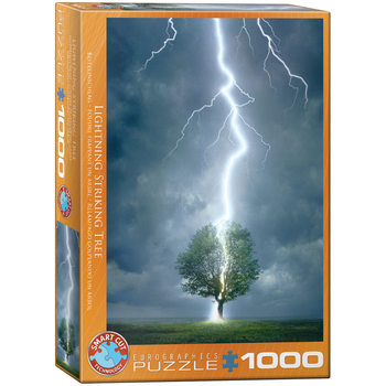 Puzzle Lighting Striking Tree