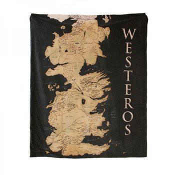 Takarók Trónok Harca - Westeros Map