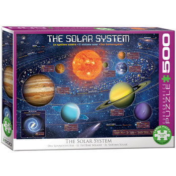 Puzzle The Solar System Illustrated