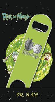 Üvegnyitó Rick and Morty - Logo