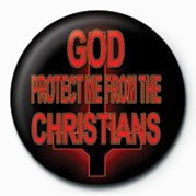 Emblemi GOD PROTECT ME FROM THE CH