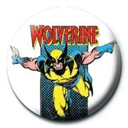 Emblemi MARVEL - wolverine retro